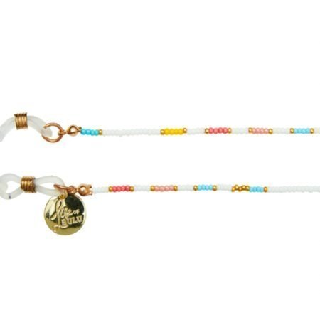 Happy Beads Suncord Multicolor White