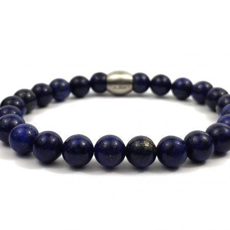 Nane Lapis Lazuli,heren Armband,mannen Armband,natuursteen,blauw,lapis Lazuli,zee,byjulian,1